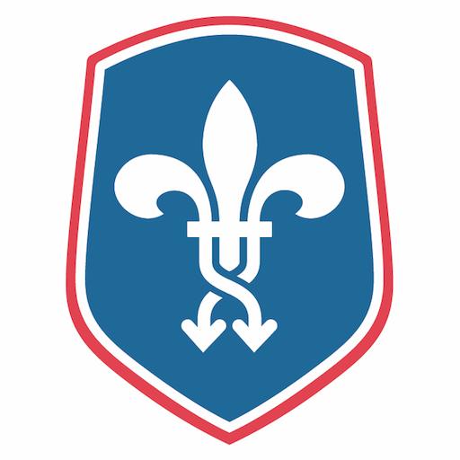 The French Shuffle Logo