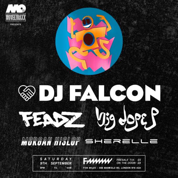 Fancy Seeing DJ Falcon in London?